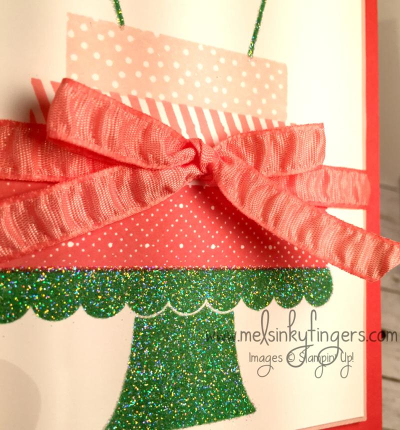 Build a Birthday birthday card with Dazzling Diamonds Glitter