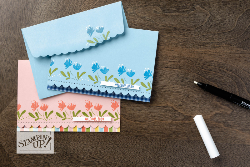 SU Scalloped Notecards
