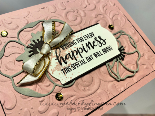 Beautiful Parisian Flourish embossing folder
