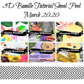 3D Tutorial Sneak Peek March 2020