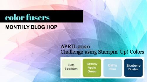 April 2020 Color Fusers Color Challenge