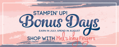 Bonus Days 2020 Stampin' Up! image