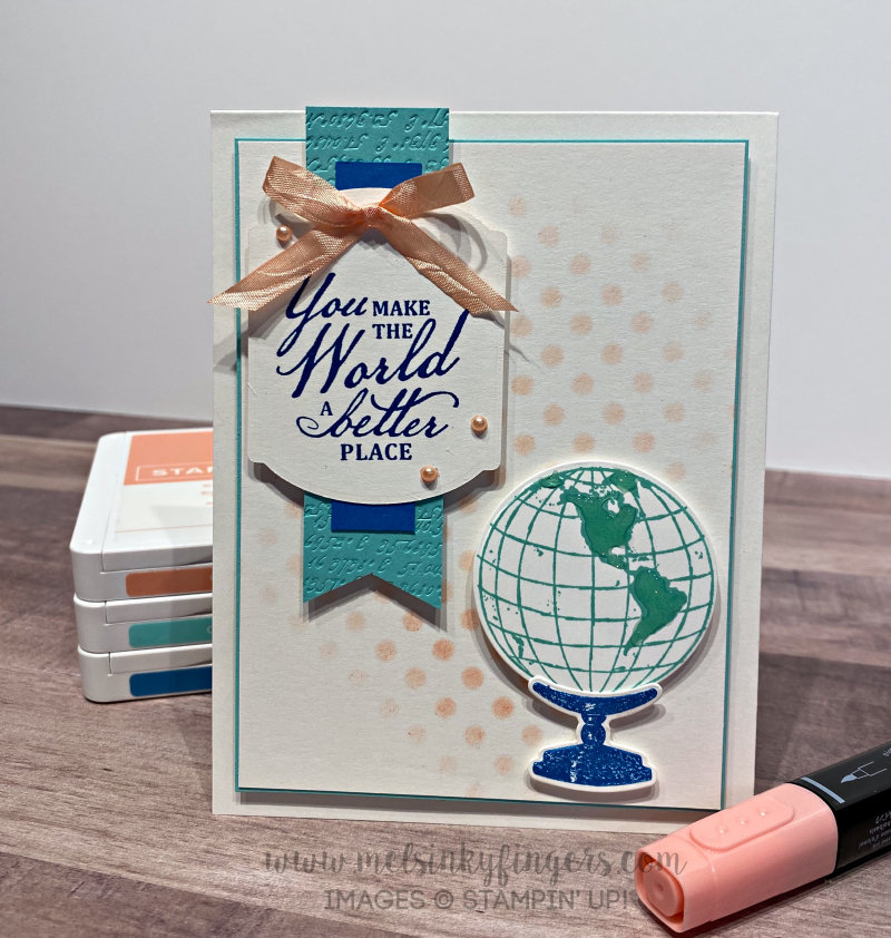 Color Fusers July 2020 using the Beautiful World bundle.
